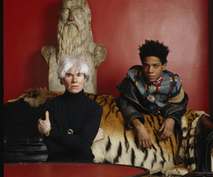 basquiat and warhol image