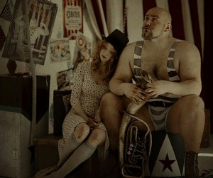 circus, story, and couple image
