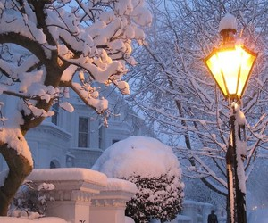 london, snow, and uk image