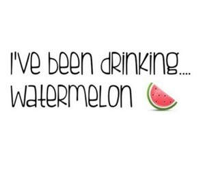 beyoncé, watermelon, and drunk in love image