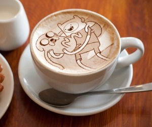coffee and adventure time image