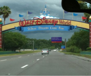 disney world and mickey image