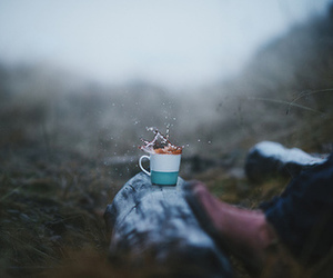 cup, spill, and drink image