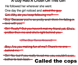 crush and girl image