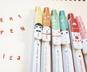 pen and kawaii image