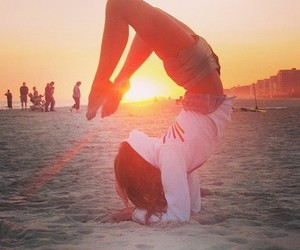 fit, motivation, and yoga image