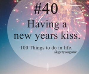 kiss, new year, and 40 image