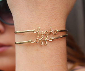 beautiful, bracelet, and cool image