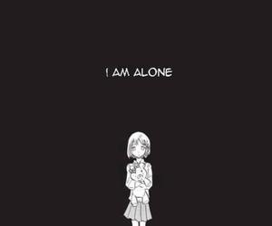 alone, manga, and anime image