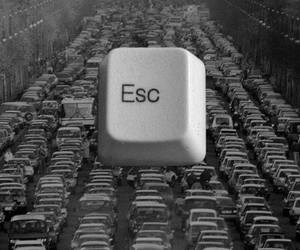 car, esc, and escape image
