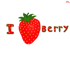 berry, draw, and i love image