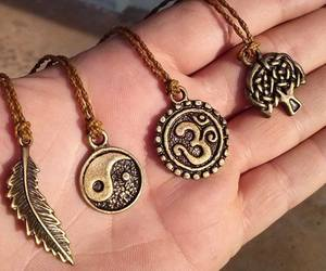 necklace, om, and aum image