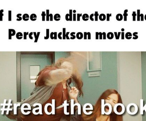 book, movies, and percy jackson image