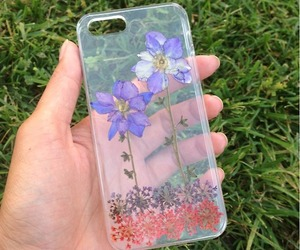 flowers, iphone, and fashion image