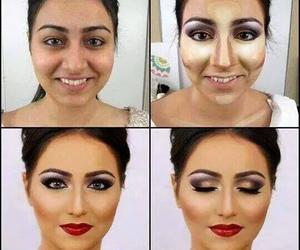 beautiful, makeup, and girl image
