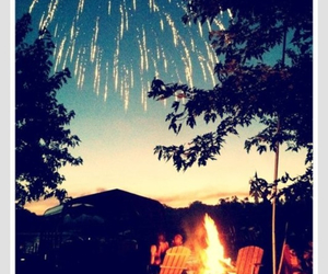 summer, fireworks, and night image