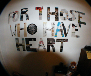 heart, text, and fisheye image