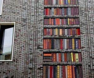 book, art, and library image