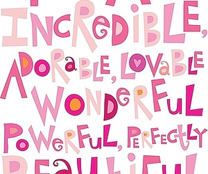 quotes, pink, and adorable image