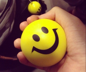ball, stress, and smile image