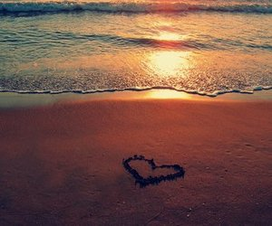beach, love, and summer image