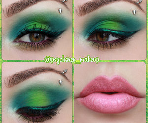 alternative, colorful, and eyeliner image