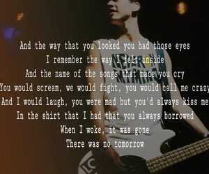 Lyrics, text, and luke hemmings image