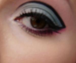 blue, eye, and glam image
