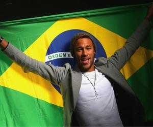 brazil, neymar, and neymar jr image