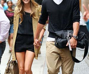 fashion, couple, and olivia palermo image