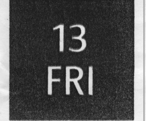 good luck, bad luck, and friday 13 image