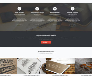 html template, agency template, and css3 template image