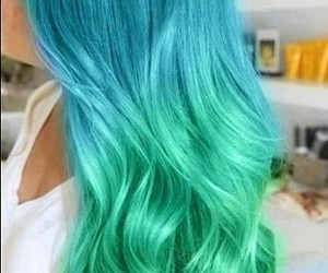 hair, blonde, and blue image