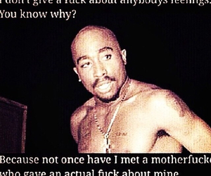tupac, feelings, and quotes image