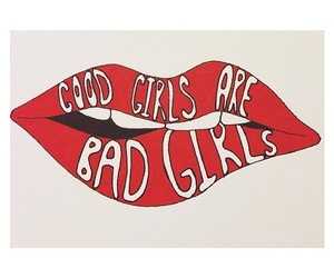 5sos, lips, and good girls image
