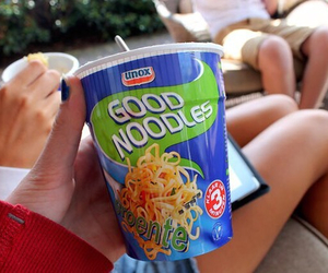 dinner, food, and noodles image