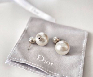 beautiful, earrings, and dior image