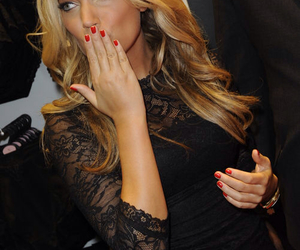 sylvie meis, hair, and nails image