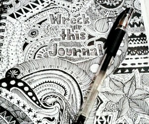 draw and notebook image