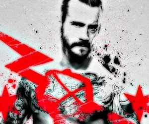 wrestler, cm punk, and facebook cover image