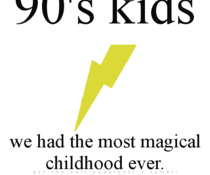 90s, harry potter, and childhood image