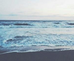 sea, beach, and ocean image