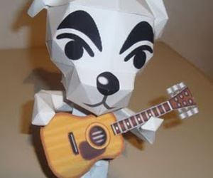 animal crossing, dog, and papercraft image