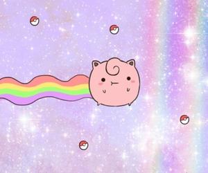 pokemon, rainbow, and kawaii image