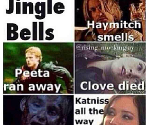 Clove, funny, and katniss image