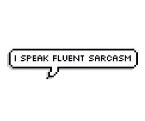 sarcasm and quotes image