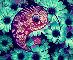 floral, wallpaper, and cute image
