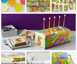 cake, cooking, and colorful image