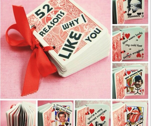 cards, playing cards, and diy image