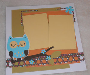 owl and scrapbook image